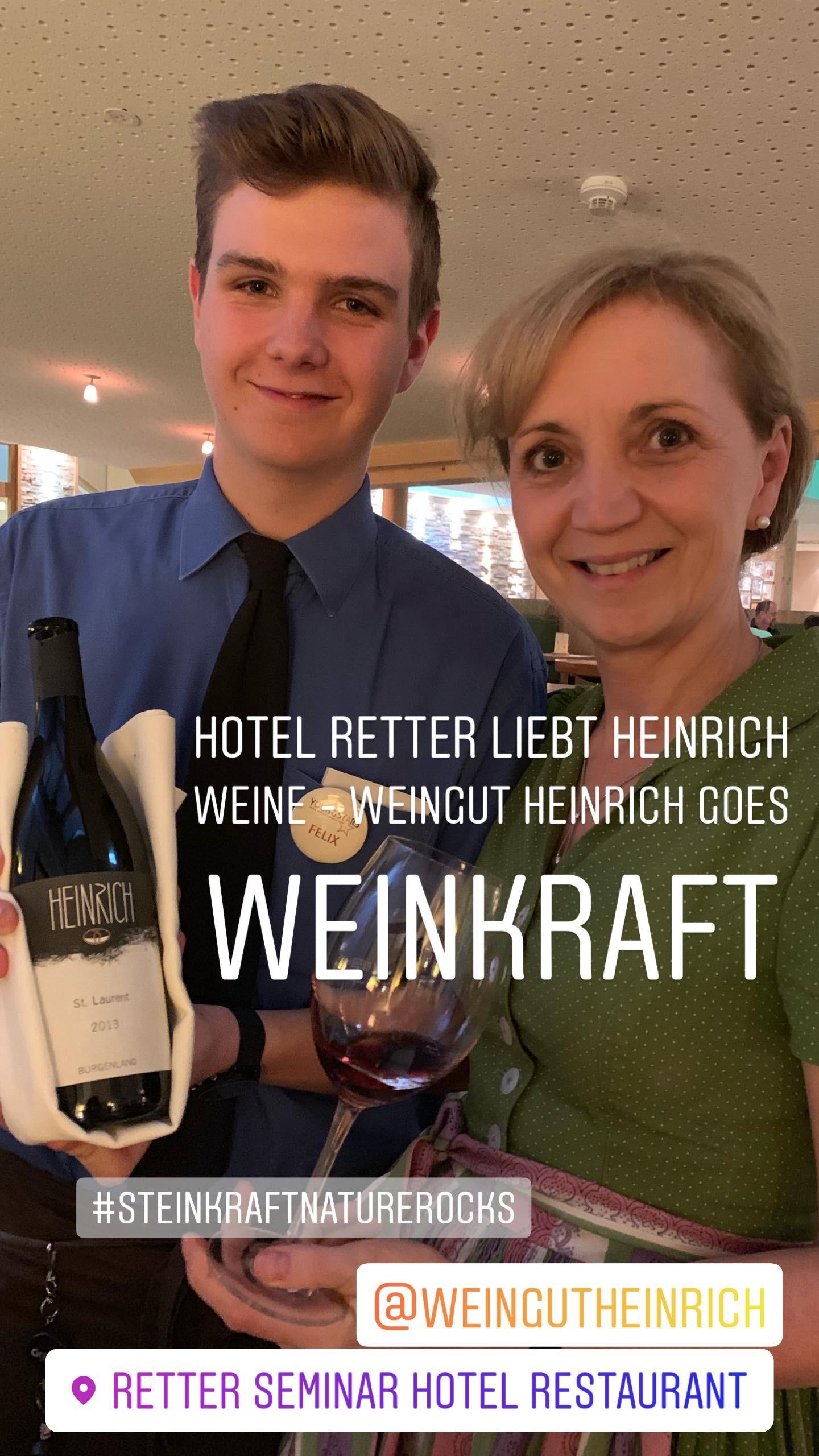 Weingut Heinrich goes STEINKRAFT