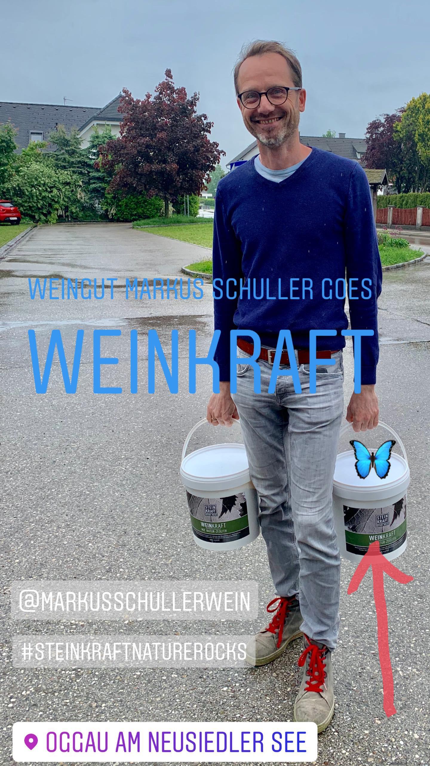 Weingut Schuller goes STEINKRAFT