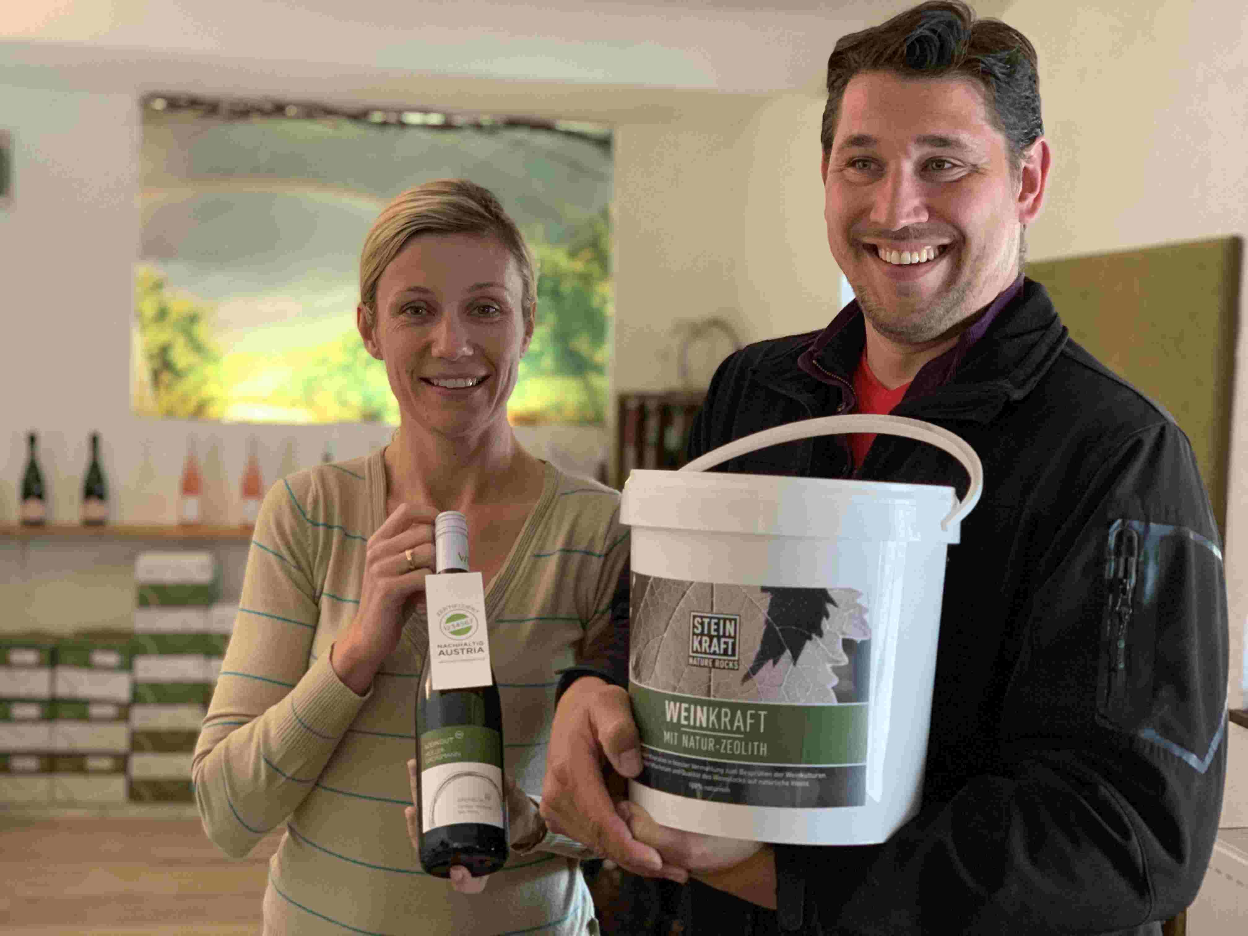 Weingut Müller-Grossmann verwendet WEINKRAFT mit Zeolith